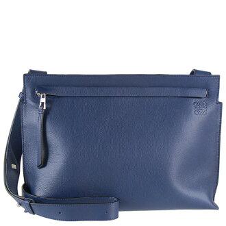 Loewe LOEWE bag men shoulder bag T MESSENGER BAG t-line [t- line] marine blue 316 30 P37 5510 MARINE