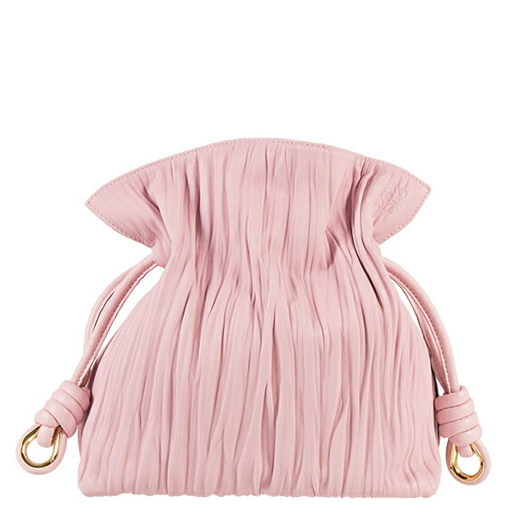 loewe loewe bag amazona flamenco knot ladyus way shoulder bag flamenco knot small software pink k soft pink