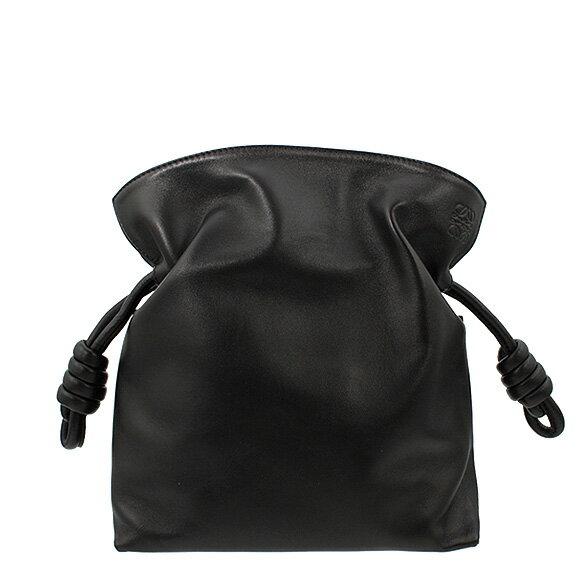 【全品ポイント3倍】 ロエベ LOEWE バッグ FLAMENCO KNOT SMALL [フラメンコ] レディース 2WAYショルダーバッグ ブラック 黒 334 87 K65 1100 BLACK
