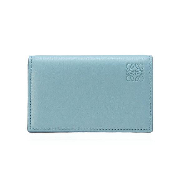 【全品ポイント3倍】 ロエベ LOEWE 名刺入れ(カードケース) NAPPA BUSINESS CARD HOLDER [ナッパ ビジネスカードホルダー] ストーンブルー 109 80 M97 5902 STONE BLUE/IVORY