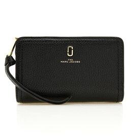 マークジェイコブス MARC JACOBS 財布 レディース 二つ折り財布 ブラック THE SOFTSHOT COMPACT WALLET M0015120 001 BLACK