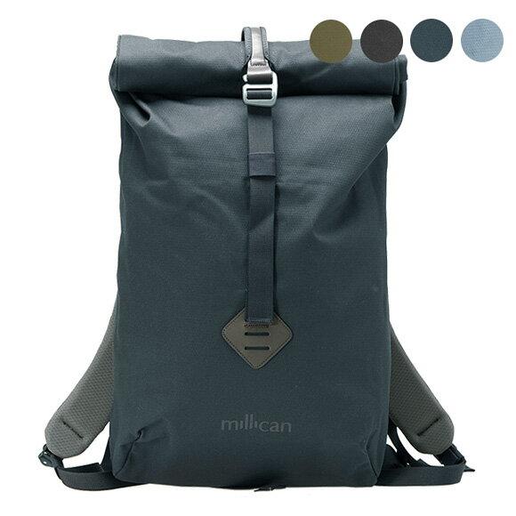 ミリカン MILLICAN バッグ バックパック SMITH ROLL PACK 15L M014 [全3色]【A4】【英国】