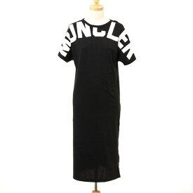 モンクレール MONCLER レディース ワンピース ブラック×ホワイト 8I704.10 V8094 999 BLACK