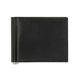 プラダ PRADA 財布 メンズ 二つ折り財布(マネークリップ) ブラック 黒 BILLFOLD 2MN077 053 F0002 NERO