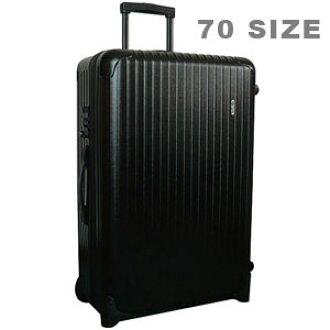 RIMOWA/리 모와 살사 가방 SALSA [살사] (대 사이즈 82L) 2 륜 전차 (트롤리) 블랙 851.70 TROLLY BLACK