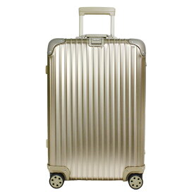 リモワ RIMOWA トパーズ チタニウム 67L TOPAS TITANIUM 4輪マルチホイール スーツケース 924.63.03.5 MULTIWHEEL ELECTRONIC TAG [電子タグ] シャンパンゴールド 【国内配送G】