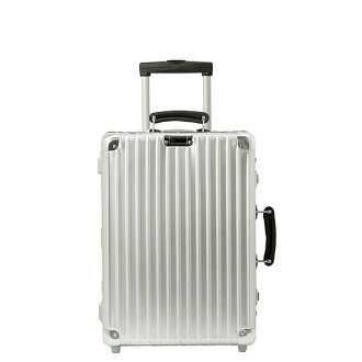 Rimowa classic flight suitcase (on board carry-on size 35 L) CLASSIC FLIGHT 976.52 CABIN TROLLEY IATA SILVER RIMOWA than around also.