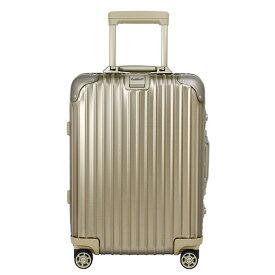 リモワ RIMOWA トパーズ チタニウム 32L(機内持ち込み) TOPAS TITANIUM 4輪マルチホイール スーツケース 923.52.03.4 / 901.52 CABIN MULTIWHEEL シャンパンゴールド 【国内配送G】