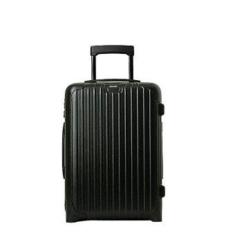 RIMOWA 和 rimowa 行李箱新新教课 (上随身携带大小 33 L) 两轮小车表面无光泽的黑色 833.52 机舱小车 IATA 垫黑。