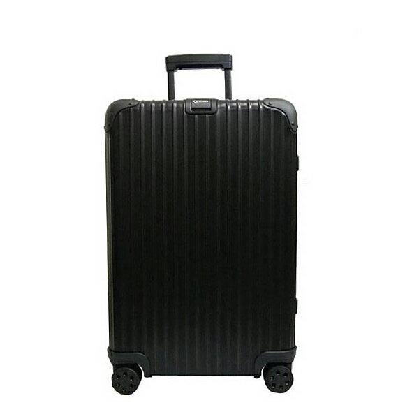 リモワ RIMOWA トパーズ ステルス 64L TOPAS STEALTH 4輪マルチホイール スーツケース 924.63.01.4 / 902.00 MULTIWHEEL ブラック BLACK 【国内配送G】