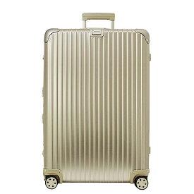 リモワ RIMOWA トパーズ チタニウム 98L TOPAS TITANIUM 4輪マルチホイール スーツケース 924.77.03.4 MULTIWHEEL シャンパンゴールド 【国内配送G】