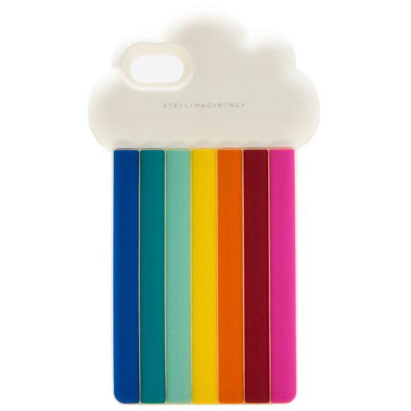 ステラマッカートニー STELLA McCARTNEY iPhone7ケース スマートフォン アクセサリー RAINBOW iPhone7 [レインボー] ホワイト×レインボー 478621 W9941 8517 RAINBOW 【英国】