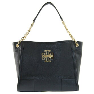 Tory Burch TORY BURCH bags ladies tote bag BRITTEN SMALL SLOUCHY TOTE black 31159877 001 BLACK