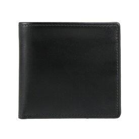 ホワイトハウスコックス WHITEHOUSE COX 財布 メンズ 二つ折り財布 ブラック NOTE CASE BRIDLE S5571 BLACK【英国】