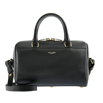 SAINT LAURENT PARIS / sanrolampari bag DUFFLE 3 [Duffle 3] 2 WAY hand / shoulder bag black CLASSIC BABY DUFFLE BAG 330958 C150J1000 NERO YVES SAINT LAURENT