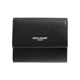 サンローラン パリ SAINT LAURENT PARIS 財布 メンズ 三つ折り財布 ブラック 黒 556282 BTY7N 1000 BLACK