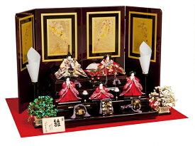 雛人形 平安豊久 三段飾り 五人 平安 ひな人形 HE-017 p10