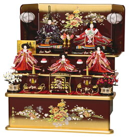 雛人形 平安豊久 三段飾り 五人 穂波 ひな人形 HE-021 p12