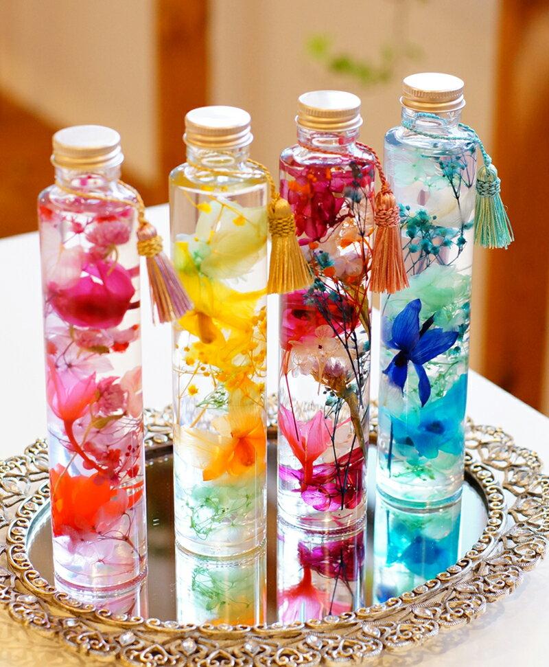 【プレミアムハーバリウム】プリザーブドフラワー ちば花プリザ カーネーション ラン 母の日 花 ガーデン