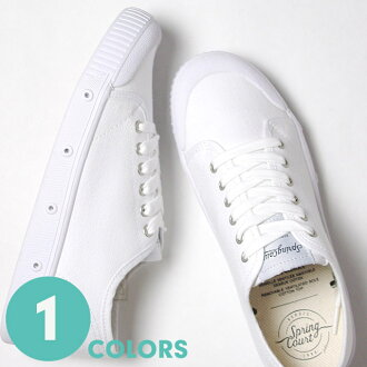 Light overcoat spring court sneakers G2 classical music Lady's g2sv1-wht (white) (G2 CLASSIC)(151002)