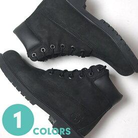 【22%OFF】ティンバーランド Timberland ジュニア 6インチ プレミアム ウォータープルーフ ブラック ブーツ レディース 12907 (6INCH PREMIUM WP BOOTS)(170831)