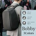 【ポイント13倍】Bobby ボビー リュック 防犯 防刃 撥水 充電 スリ対策 バックパック(180227)