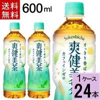 爽健美茶600mlPET