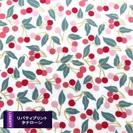 リバティプリント 《タナローン/2020秋冬》CherryDrop(チェリードロップ)パステル系 36302124-P20B(10cm単位)