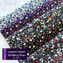 リバティカットクロス 2020BerryXmas ナイトカラー 5種セット【LIBERTY PRINT】Berry Christmas/おためし/はぎれ/…