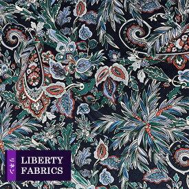 リバティ フランダースリネン生地《麻100%》【2019年春夏柄】Far Away Paisley/ファー・アウェイ・ペイズリー/3638238L-J19C/「liberty-linen17」(10cm単位)