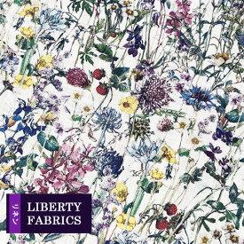 リバティ フランダースリネン生地《麻100%》【2019年春夏柄】Wild Flowers/ワイルドフラワーズ/3634251-AL/「liberty-linen20」(10cm単位)