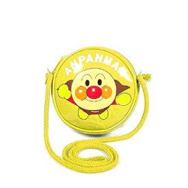 それいけ!アンパンマン 丸ポシェット / ショルダーバッグ (イエロー)【メール便対応】