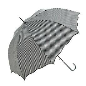 傘 ウォーターフロントWaterfront スタイリッシュストライプジャンプ長傘 女性/学生 雨傘 全5色 親骨58cm SLST-1L58-UJ-1T