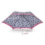 【晴雨兼用傘】【ホールマークコラボ】プレミアムポケフラシャトルフラワー折りたたみ傘【GSPFW-3F55-UH】