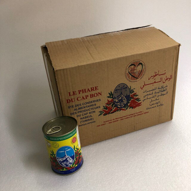 業務用ハリサ 缶入り 380g Harissa 24缶入り (Cap Bon, Tunisia)ハリッサ/アリサ/アリッサ(チュニジア料理 モロッコ料理 クスクス マグレブ 北アフリカ)