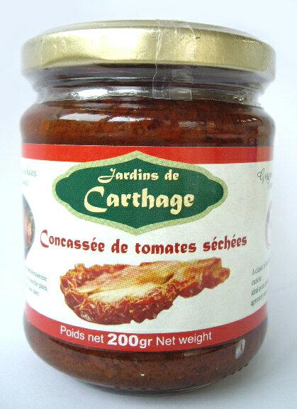 天日干しドライトマト(オイル漬、みじん切り) 200gSun Dried Tomato Concassed, in oil(Sun Antipasti, Tunisia)