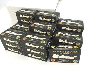 チュニジア産 エクストラ バージン オリーブオイルサーディン 缶詰(紙箱入り)1ケース(50缶入)(いわしのエクストラ バージンオリーブオイル漬)Oil Sardine in Extra Virgin Olive Oil 125g x 50