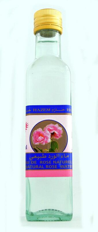 チュニジア産 食用 ローズウォーター 240mlEau de Rose Comestible/Edible Rose Waterダマスクローズ フローラルウォーター/花水 (HAZEM, Tunisia)海外 おみやげ 土産 手作り化粧品材料