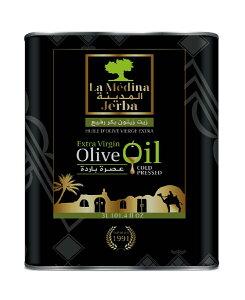 チュニジア産 徳用エキストラヴァージン・オリーブオイル3L缶・ラ・メディナExtra Virgin Olive Oil La medina 3L / Tunisia(業務用/海外手作り化粧品材料)