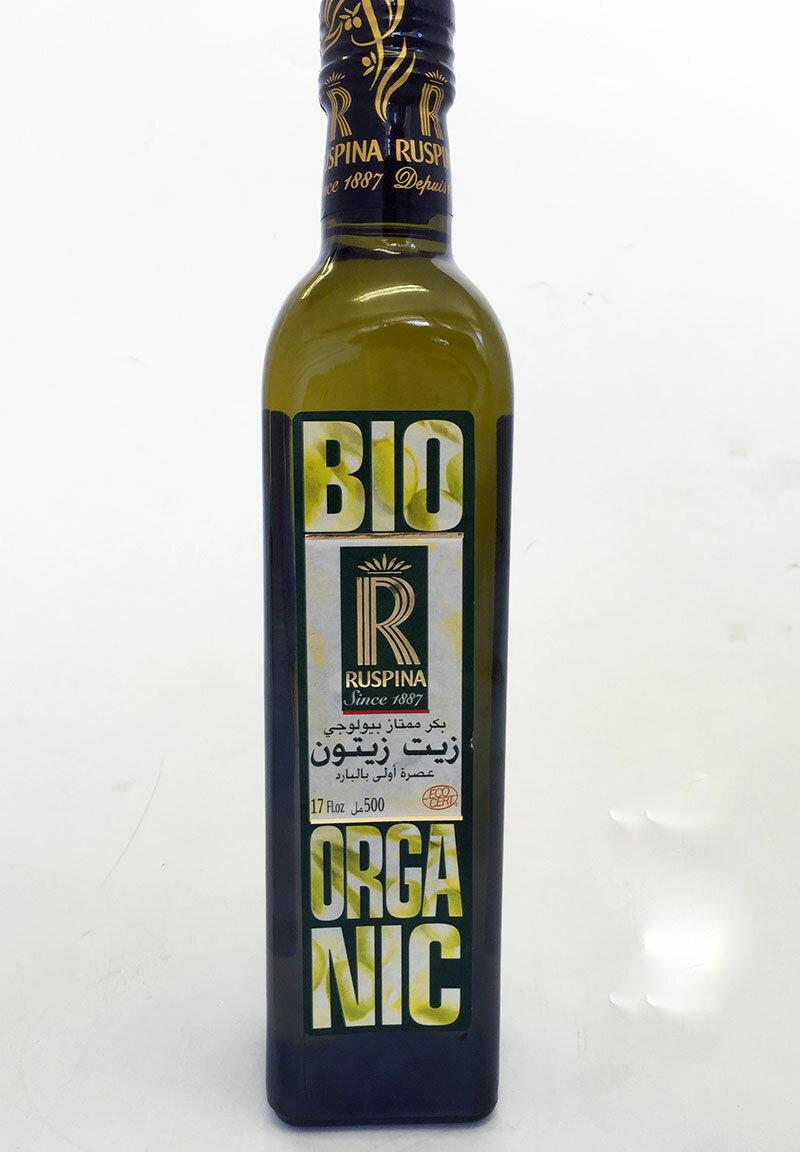 【2016/2017収穫分】チュニジア産エキストラ・バージンオリーブオイルbio500mlルスピナExtra Virgin Olive Oil Ruspina bio (Tunisia)海外 おみやげ 土産