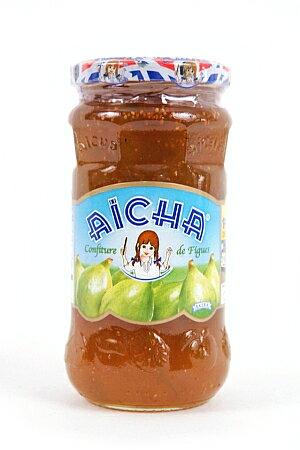 モロッコ産 フィグジャム(いちじく) 430g イチジクジャムFig Jam /Confiture de Figue (Aicha, Morocco) モロッコ料理 マグレブ 北アフリカ 土産/おみやげ