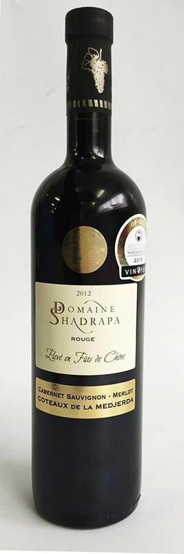 【新商品】2012 Domaine Shadrapa Rouge ドメーヌ シャドラパ ルージュ(フルボディ 赤)