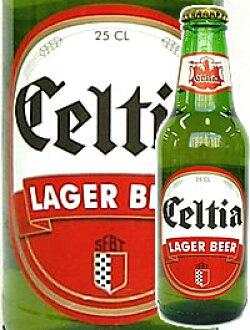 突尼斯的啤酒格子TEAR啤酒(瓶子.250ml)6瓶一套Celtia Beer,SFBT,Tunisia)海外土特产给的礼物进口啤酒瓶啤酒