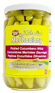 レバノン産 ワイルド・キューカンバー中東きゅうりのピクルス 400g Pickled Wild Cucumber/Comcombre Sauvage Marinee (Lebanon, Mechaalany) Middle Eastern Food 前菜 サンドイッチ材料