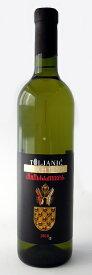【クロアチアワイン】ジェラフティナ トォリャニッチ 2015(白・辛口) Zlahtina Toljanic (PZ Gospoja, White wine, Croatia)(海外土産 クロアチアおみやげ サッカー)