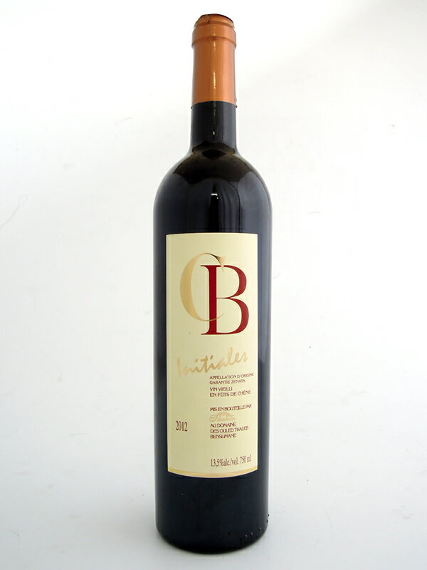【モロッコワイン】シービーイニシャル (赤・重口)ワイナリー・タルヴァンCB INITIALES ROUGE (Thalvin, Red wine, Full-body, Morocco)海外 土産 おみやげ 北アフリカ タルヴァン