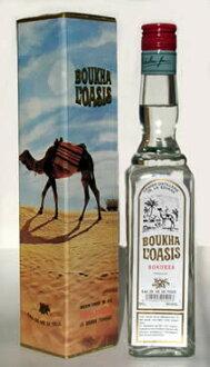 붓하・오아시스 500 ml BOUKHA OASIS 세계적으로 유명한 튀니지 특산의 무화과나무 증류주(Tunisia)