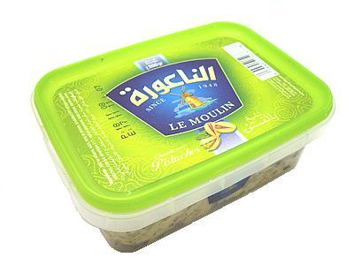 チュニジア産 ハルワ・シャミア・ピスタチオ入り200gハルヴァ・シャミヤ Halwa/Halva Pistachio (Triki Le Moulin, Tunisia) Ramadan