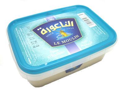チュニジア産 ハルワ・シャミヤ・プレーン200gハルヴァ・シャミア Halwa/Halva Plain 200g (Triki Le Moulin, Tunisia)Ramadan ラマダン ハルヴァ