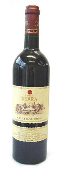 【レバノンワイン】シャトー・クサラ・ルージュ (赤・重口)シャトー・クサラChateau Ksara Rouge (Chateau Ksara, Red wine,Full body, Lebanon)